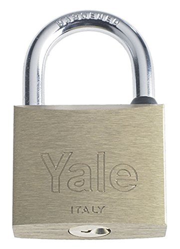 YALE Y1100040080 Lucchetto Standard 110 40 mm, Argento